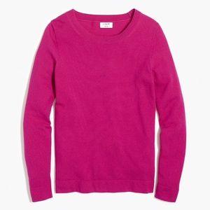 J. CREW   teddie wool cotton crew neck sweater top